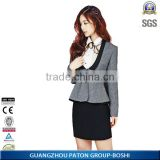 2015 OEM supplier type TR material women formal blazer from China