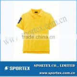 Custom-Fit Fashion Embroided Logo T Shirt Polo for Boy