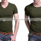 Factory Provide Seamless Cotton Spandex t Shirt