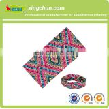 Wholesale Cheap Custom Head Wrap 100% Microfiber Polyester Tube Sport Wristbands Headwear