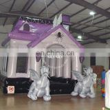 Classical Halloween inflatable haunted house for sale
