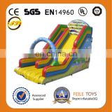 Feile--H199 inflatable funny slides inflatable blue slide inflatable clown slides inflatable arch slides