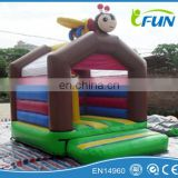Durable Bee inflatable jumping house for kids