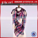 Customized best quality colorful elegant classic fashion lady scarf