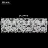 Fashion raschel allover elastic lace for apparel