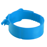 Nylon tube clamp fixing central air conditioning copper tubes