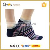 woman stripe athletic short ankle sock/socks with arch support