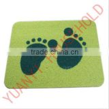 footprint bath mats green bath mat