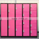 Multi-door Colorful School Furniture Metal Storage Locker Cabinets/School Closet Locker/ Students Storage Locker