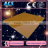 ACS 2015 New wooden dance floor plate for event