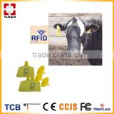 RFID animal ear tag/passive uhf rfid ear tag for cow tracking system                                                                         Quality Choice