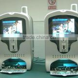 8'' LCD Video cell phone charging unit,mobile phone charging vending station