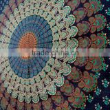 Bohemian bedsheet hippie 100% Cotton gypsy Mandala Tapestry Tapestries Mandala round Tapestry