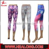 Custom sublimated women sport fitness legging