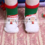 New year Christmas baby combed cotton terry socks Children gift towelling socks