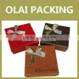 Custom Cheap Chocolate Boxes Wholesale