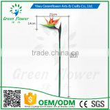 greenflower 2016 Latex PVC Bird of Paradise artificial flowers gift for Wedding decrations flowers