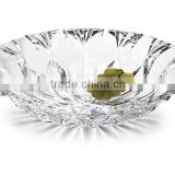 2015 china product new design factory wholesale crystal fruit tray