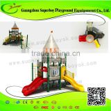 Outdoor Castle Plastic Backyard Playground