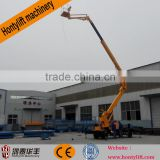 14-45m cherry picker telescopic articulated hydraulic boom lift tables/electric boom lift