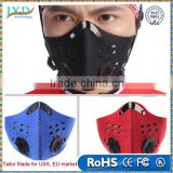 Anti-pollution bike bicycle cycling motorcycle motorcross racing face mask cover outdoor sports mouth-muffle dustproof filter