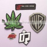 (3D Embroidery Badge 201) Woven label/patch/Main label