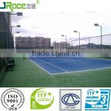 outdoor sport flooring badminton court volleyball court multi-purpose synthetic tennis courts