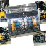2000L Newest pet pe plastic water tank barrier pallet blow moulding machine with competitive price