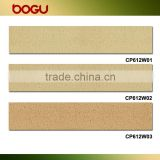 115x600mm Clay made of facade terracotta panel, terracotta facade system, exterior wall terracotta tile