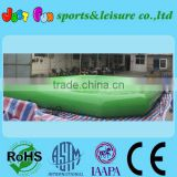 green water ball pool inflatable zorb pool