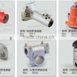 Petrol grass trimmer spare parts: easy starter, clutch, piston, nylon cutter, alu.head, crank shaft, gear case, ignition coil