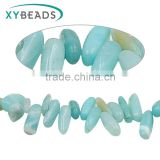 2016 High Quality irregular raw semi-precious turquoise natural stone beads strands