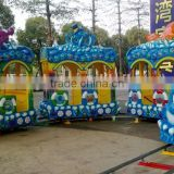 Amusement kids train hot sale track train