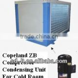 Copeland Condensing Unit with Fan Top Direction for Refrigerant Cold Storage, Freezer and Blast Freezing Rooms