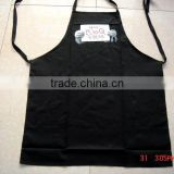 cheap BBQ apron &cotton apron for kitchen and promotion black bib apron with competitive price -10                                                                         Quality Choice