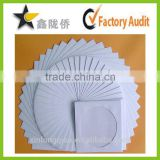 High quality pure white blank CD bag,DVD bag,Compact Disc Packaging