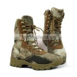 camouflague safety tactical military boots