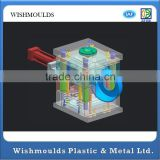 Factory Price injection mold Custom Over Molded Plastic Product, overmolded Cable