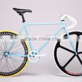 Fixed Gear Bicycle Bike For Men Women Bicycle 26 Inch Adult Sports Road Bikes 700C Single Speed Fixed Gear Bikes KB-700C-M16085