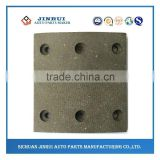 Yutong bus durbale quality brake lining for sale