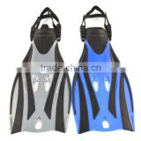 A standard PP & TPR material Wholesale comfort freediving fins/flippers scuba diving equipments