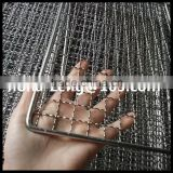 304 Stainless steel 40*60mm square baking wire mesh for barbecue