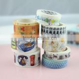 xg-1001 New style wholesale japanese washy masking tape custom printed washy masking tape
