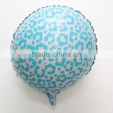 45*45cm light bule Leopard grain Aluminum Balloons BABY Shower party decoration supplies Birthday gifts balloon for kid