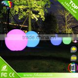 Any Color Led Sphere Light/Artistic Led Glow Swimming Pool Ball/Colorful Floating Led Pool Ball Light Outdoor