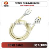 gold plated 4k * 2k hdmi cable1.4v for PS3 PS4 PS3000 3D DVD PS3 HDTV XBOX LCD HD TV 1080P SET TOP BOX