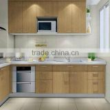 modern design kitchen cabinet made in china, kitchen cabinets with precut granite countertops
