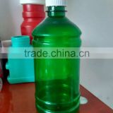 300ml green clear wide mouth plastic PET bottle for dietary tablets