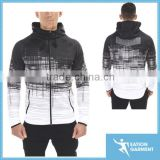 men's gym top wear sublimated hoodie tapered slim fit hoodie                                                                         Quality Choice