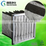 Aluminum Synthetic Activated Carbon Pocket Air filter material manufacturer